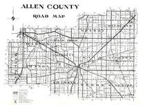 Index Map, Allen County 1946